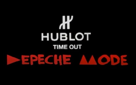 hublot timeout depeche mode